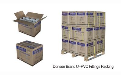 Donsen Brand U-PVC Fittings Packing