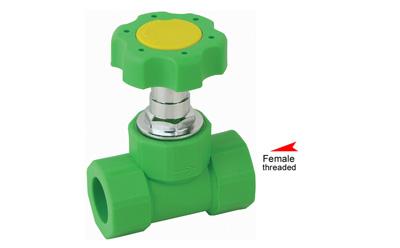 Chinese wholesale Ppr Female Tee - PP-R single female threaded stop valve – Donsen